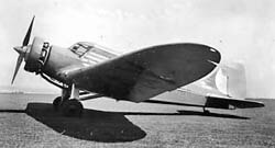 Airspeed Courier aircraft
