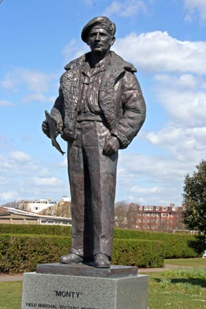 Field Marshal Montgomery statue, Southsea