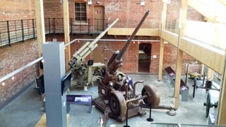 Fort Nelson artillery exhibition