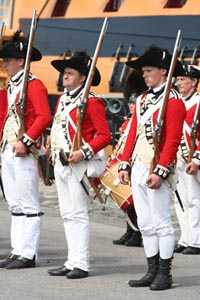 Picture of the Fort Cumberland Guard at Portsmouth Historic Dockyard.