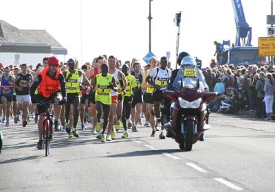 The start of the Great South Run Portsmouth