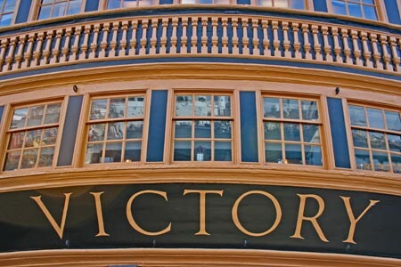 HMS Victory at Portsmouth Historic Dickyard
