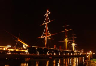 HMS Warrior at Portsmouth Harbour