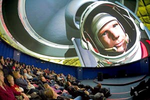 Space show at the Intech Planetarium, Intech Centre which is near Winchester.