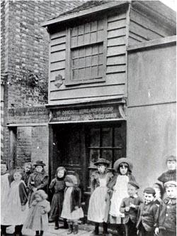 John Pounds workshop in Portsmouth