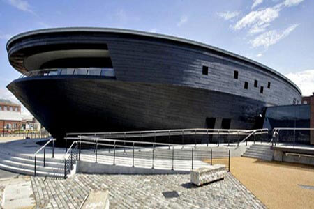 New museum opened May 2013 at Portsmouth's Historic Dockyard.