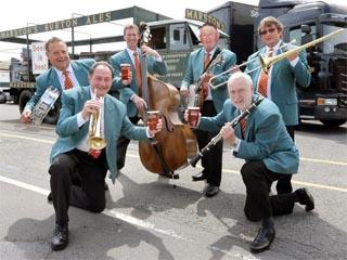 Pedigree Jazz Band, Southsea Bandstand