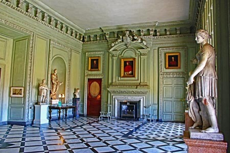 The Marble Room at Petworth House, West Sussex