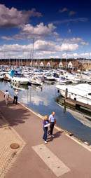 Port Solent Marina at Portsmouth Harbour