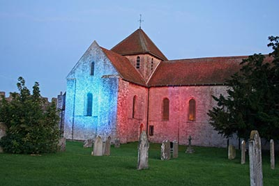 St Mary's Church at Portchester Castle