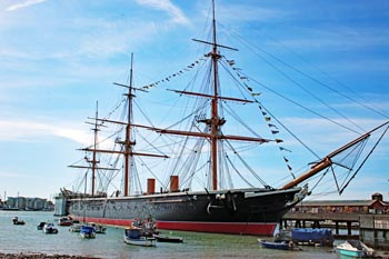 Portsmouth Historic Dockyard, historic ship collection