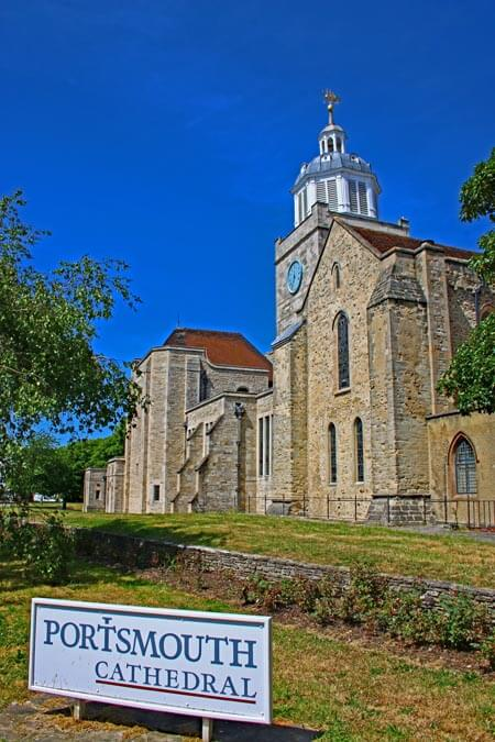 St Thomas Cathedral at Old Portsmouth