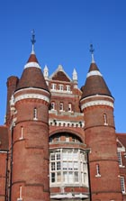 The Portsmouth Museum. The museum houses a large collection of Sherlock Holmes material, the author Conan Doyle was a resident of the city.
