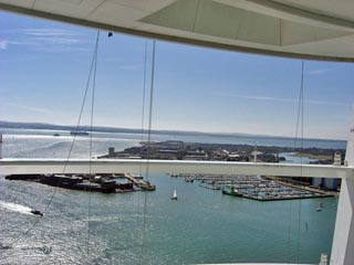 View from the top of the Spinnaker Tower, Portsmouth