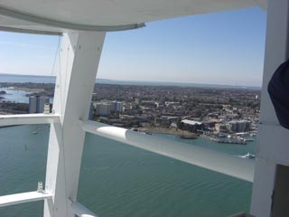 Spinnaker Tower, Portsmouth view from the top