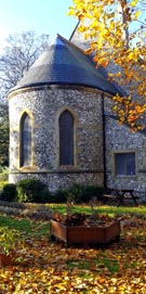 St James Chapel in the hospital grounds, Milton, Portsmouth