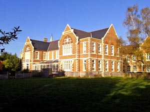 The main building at St James Hospital in Portsmouth
