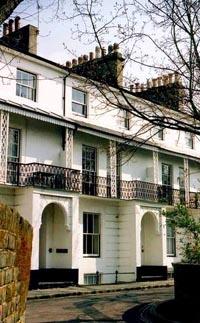 Sussex Terrace in Southsea, designed by Thomas Ellis Owen