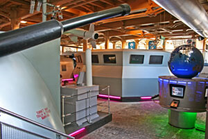 Photo of the Action Stations attraction, Portsmouth Historic Dockyard