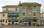 Photo of The Bridge Tavern pub in Old Portsmouth.