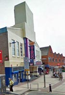 Northern end of Cosham High Street shopping area, Portsmouth
