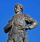 Admiral Nelson statue, Portsmouth.