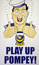 Play up Pompey Sailor from Fratton Park